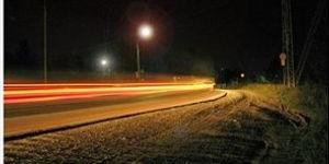ночью за рулем